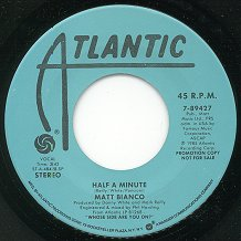Half a Minute - US Vinyl Single -- Click to see larger image!